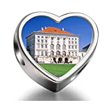Rarelove Nymphenburg Palace Munich Germany Heart Photo Charm Beads
