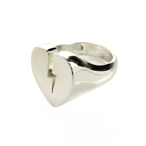 Me & Zena Ring BROKEN HEART silver