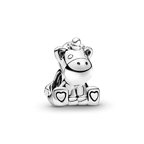 Pandora Damen Friends Bruno the Unicorn Charm Sterling Silber 797609