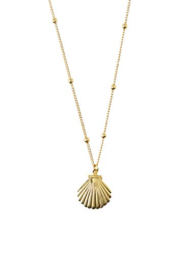 Orelia Damen Kette Shell & Satellite Gold One Size