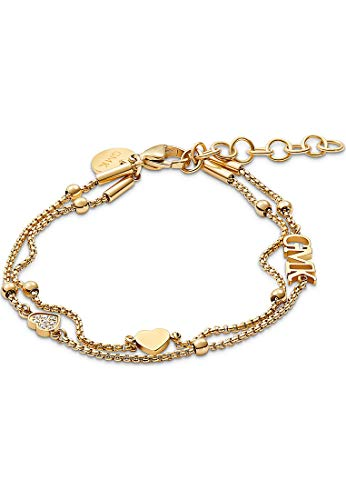Guido Maria Kretschmer by CHRIST GMK Collection Damen-Armband Valentine Collection Edelstahl 8 Zirkonia One Size Gold 32012143