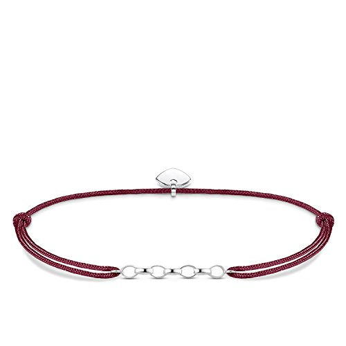 Thomas Sabo Damen-Armband Little Secret 925 Sterling Silber Rot LS051-173-10-L20v