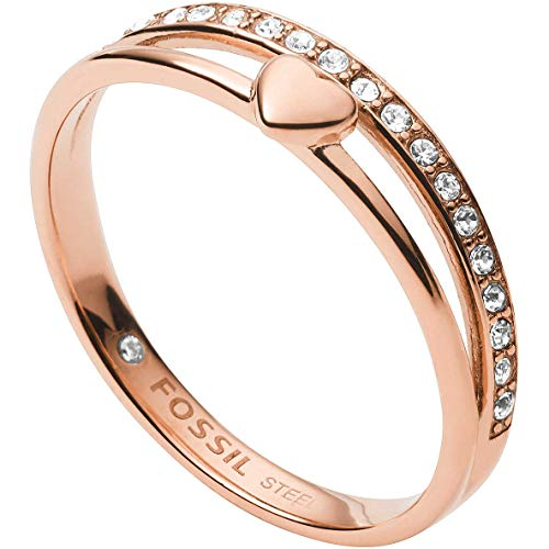 Fossil Damen Ring Hearts To You, JF03460791