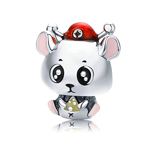 Mijn bedels Sterling Silber Charm Baby Maus