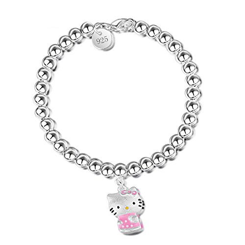 Armband Silber 925: Hello Kitty