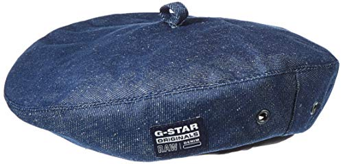 G-STAR RAW Mens Beret, raw Denim C665-001, One Size fits All