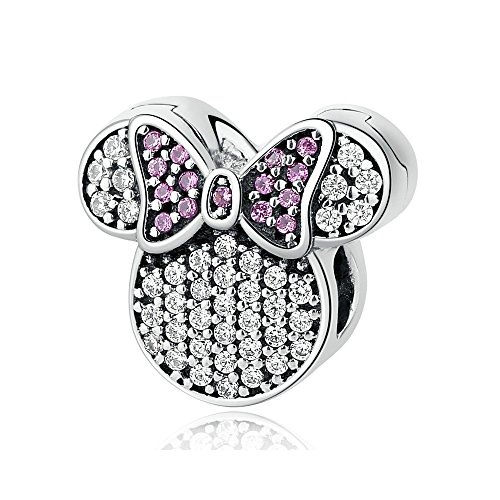 Sterling Silber Charm Minnie Mouse