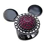 Disney Mawi for Couture Hematite Crystal Ring (Small Size)