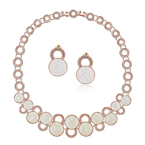 Janeo Jewellery Sets, Luxury 3 & 4 Pieces Herren - Rose Gold klar, Rotgold