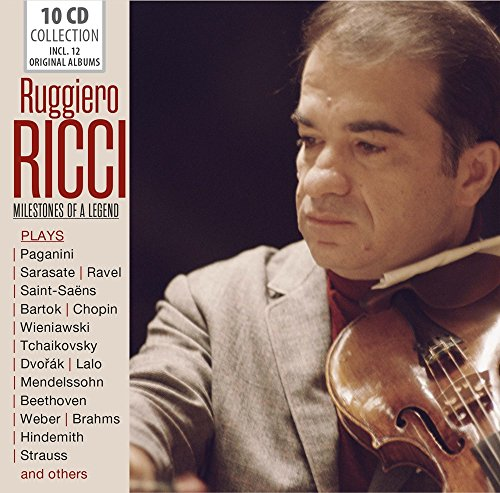 Ruggiero Ricci Milestones Of A Legend