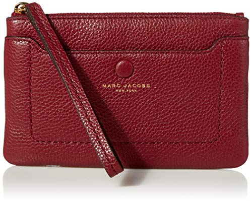 Marc Jacobs Damen Empire City Wristlet Armband, Sultry Red, Small