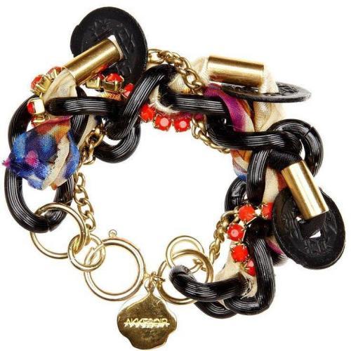 Akkesoir Long Island Bracelet Armband blackorange