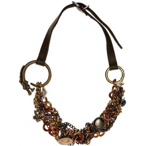 Akkesoir Tia Halskette bronce