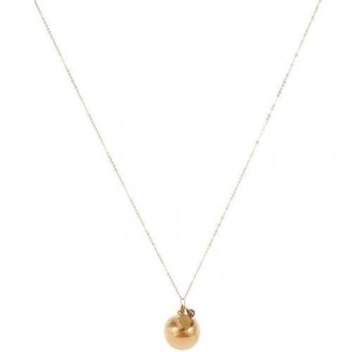 allesausliebe by milla k Halskette gold geschliffene Perle