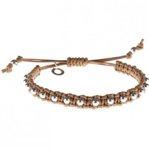 Blingissimo Bspeckled Armband camel