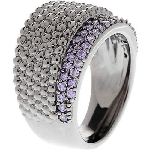 Caï Ring purple violette Zirkonia