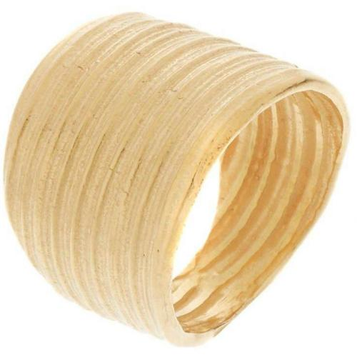 Catherine Weitzman Ring gold organische Rillenstruktur
