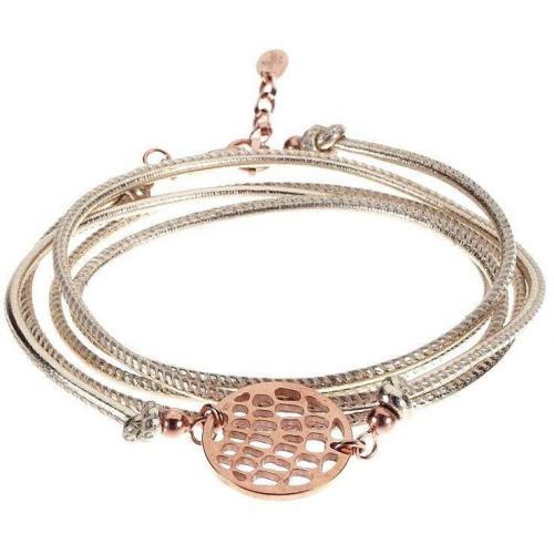 Chaingang Anakonda Armband roségold
