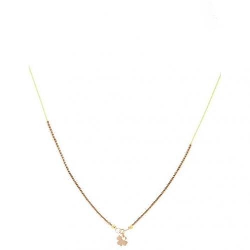 Chaingang Star A Line Halskette gelb