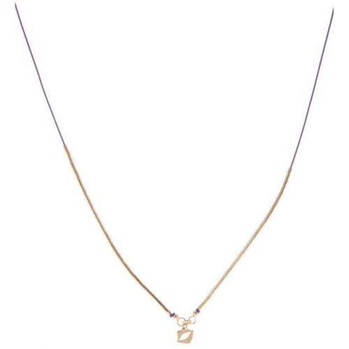 Chaingang Star A Line Halskette lila