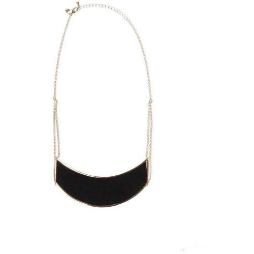 Cheap Monday Pony Necklace Halskette gold/schwarz