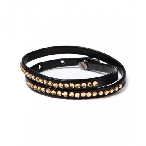 Chicstyle Armband schwarz/gold