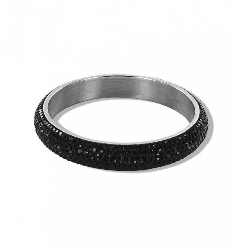 Chicstyle Armband silber/schwarz Armband in glamourösem Design