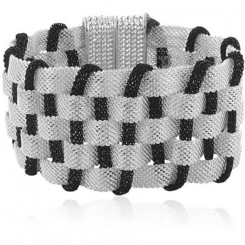 Chicstyle Armband silber/schwarz in stylischem Design