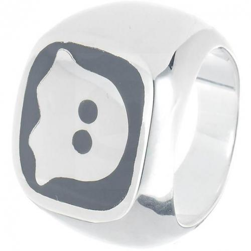 chilili Ring silber/ titanium