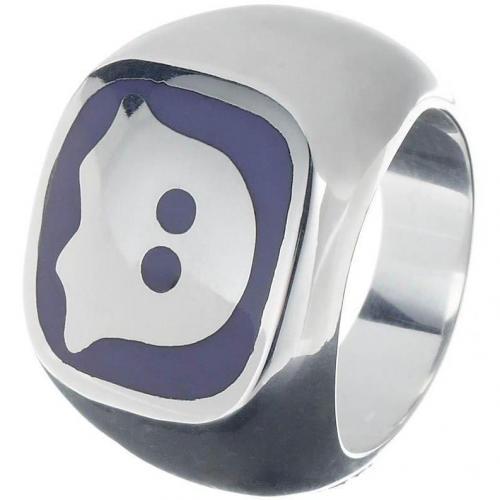 chilili Ring silber/ violett