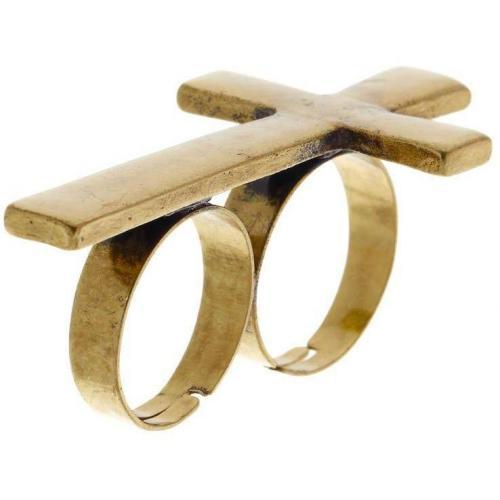 Club Manhattan Ring antique gold