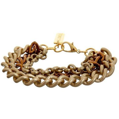 Coccinelle Armband gold mix