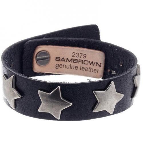 Cowboysbelt Armband black