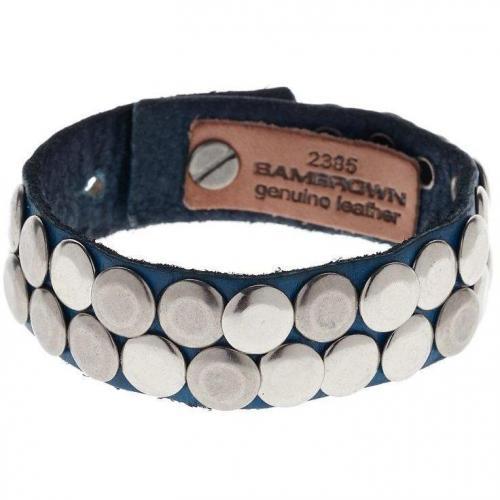 Cowboysbelt Armband blue