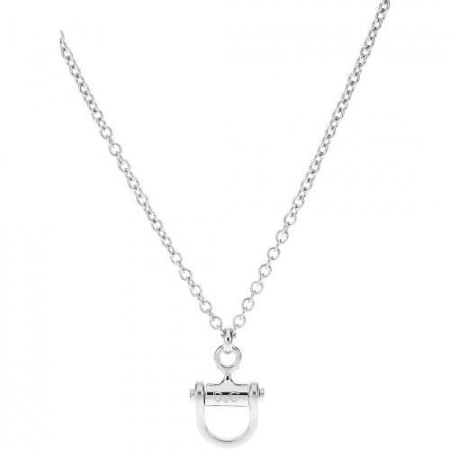 D&G Halskette acier Gliederkette mit Anhänger
