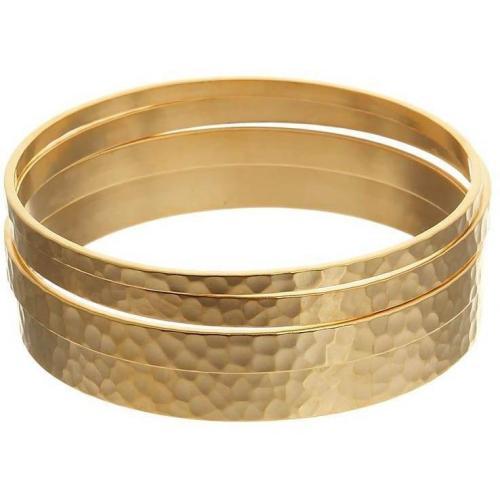 David Aubrey Armband gold 4er Set