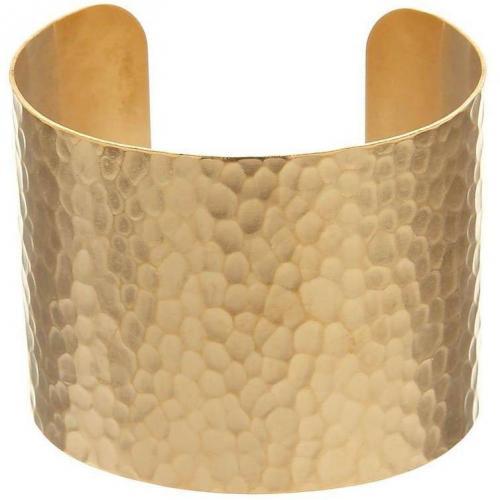 David Aubrey Armband gold gehämmerte Oberfläche