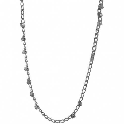 Diesel Abusi Halskette silver
