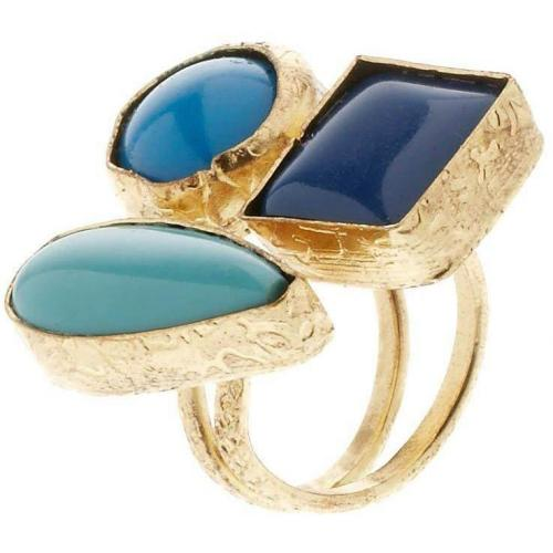 Dixie Hedy Ring blue