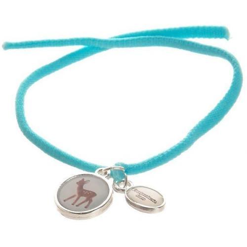Escapulario Armband blau Freundschaftsarmband