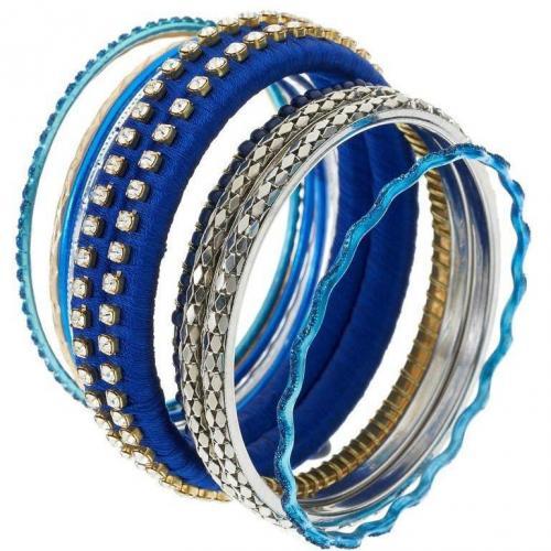 Lipsy Armband blue mix