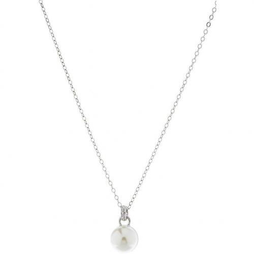 Lk Bennett Classic Pearl Halskette silver