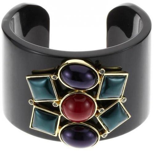 Lk Bennett Mosaic Armband black/light gold