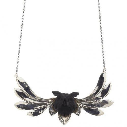 Lotta Halskette silver Vintage-Stil