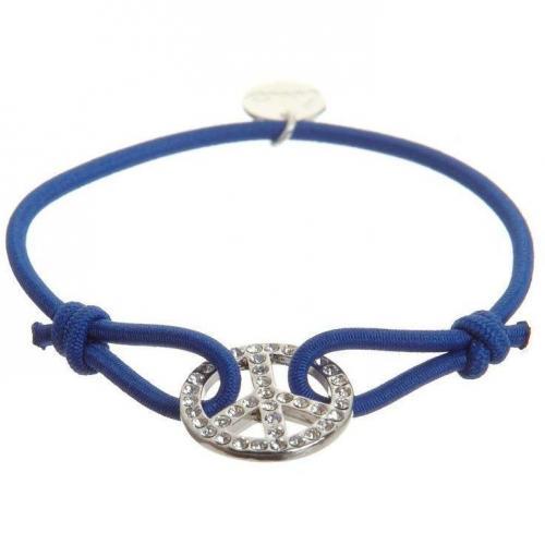 Lua Peace Armband french blue