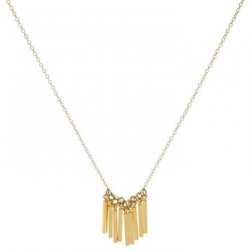 Maison Scotch Halskette gold leichtes