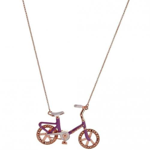 Me & Zena Dream Wheelz Bike Halskette copper/purple