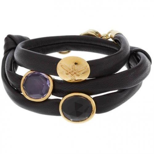 Nicola Hinrichsen Magic Armband gold/braun