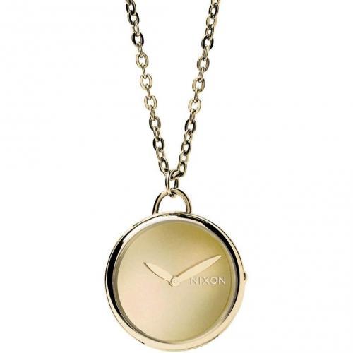 Nixon Spree Pendant Uhr all gold