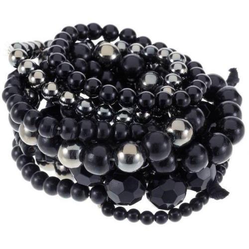 Pieces Fernande Armband black